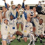 On this day - April 26 1992, #lufc became Division One champions beating Manchester United to the title. http://t.co/d6DbmDr1kH