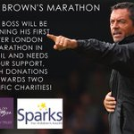 News: The boss has just set off on the #LondonMarathon. Can you donate to two great charities? http://t.co/wiKcExj0di http://t.co/pBgXHY6xCr