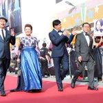 UNBELIEVABLE ENTRANCE: Unbelievable MV star Chen Tianwen arrive with veteran artistes for #2015starawards http://t.co/YFnMbavKnK
