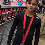 Well done Romeo!! We r all so proud!! Running @LondonMarathon for @UNAIDS and 7 Fund x vb http://t.co/gIianHjssM