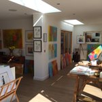The sun is shining - perfect for #Roundhay Open #Art Studios today in #Leeds. Open to all http://t.co/5DH43U2uSg. http://t.co/So8Mqx1eZ1