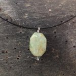 Green Muscovite necklace Sterling silver Labradorite by * JabberDuck http://t.co/opOzf8cvYy http://t.co/ABbFKNThUi
