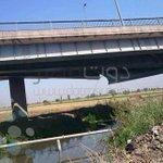 صور| انهيار كوبري بالدقهلية بعد انقلاب سيارة نقل http://t.co/CIsvFsptZj http://t.co/1lFtnsfXQ0