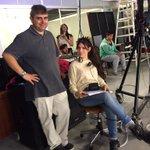 .@juansamuelle preocupado por la repercusión de nuestra Asistente de Producción en TW. @noseasmalotv Está de cuida! http://t.co/imFK7Kqdto