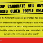 This is what the National Pensioners Convention had to say about disgraced SNP candidate Neil Hay: http://t.co/yrA2FBYKpe