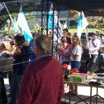 gran acto en Malvin Norte, Municipio E. @GarceAlvaro Intendente, Zika Platero Alcalde http://t.co/JiBIp62Bd9