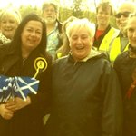 Met more Kirsten voters out and about today. Fantastic! #VoteSNP #GE2015 http://t.co/ZAHP6YKu1h