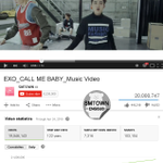 "[LIST] EXOs ""Call Me Baby"" becomes the 1st 2015 K-Pop MV to reach 20,000,000 views on YouTube http://t.co/VOPIuBV4ez http://t.co/dlb6gal4eV"