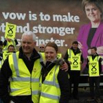 Fantastic launch of @theSNPs campaign and manifesto in John OGroats today with @GailRossSNP #VoteSNP #GE15 http://t.co/UOfikBkfFI