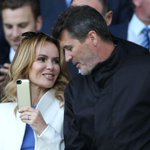 Uncontrollable potty-mouthed beast... meets Roy Keane. Cc @Amanda_Holden http://t.co/ZsyBUoGeGE