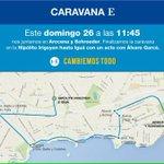 [HOY] Caravana por el #MunicipioE, finalizando 13hs, en un acto con @GarceAlvaro, en Hipólito Irigoyen e Iguá. http://t.co/firGC9OhgH