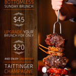 Because we know you never want brunch to end, we made it bottomless. http://t.co/RB8GGCfeG3
