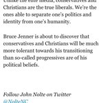 ICYMI: @NolteNCs excellent piece on Jenner & liberal panic over his conservatism http://t.co/RXMBBgue8B http://t.co/BZBhJqLfNP