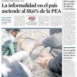 Buen domingo. Compartimos la #PortadaELUNIVERSO del día con las noticias en papel digital: http://t.co/pQfvcG4OBp http://t.co/p09V3MZcn8