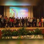 Junto a los ganadores de becas de postgrado en la Universidad de Santander, Madrid. @JuventudRD #ForoJuventudRDMadrid http://t.co/5RJ9szG6MY