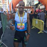 #Atletismo Aguelmis Rojas ganó hace minutos 2da.Maraton de Montevideo con 2 hs 21min y clasificó a #Toronto2015 http://t.co/ToOC6kpkT8