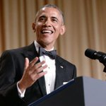 "Obama: I dont have a bucket list, I have ""something that rhymes with bucket list."" http://t.co/yb7h4NmGgc #WHCD http://t.co/FHRPAhe1k9"