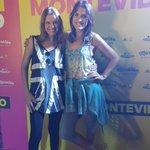 @luciabrocal y @VarinaDeCesare acompañan la #MaratonMontevideo desde la carpa de @adidasUY http://t.co/5bqyXkf49A