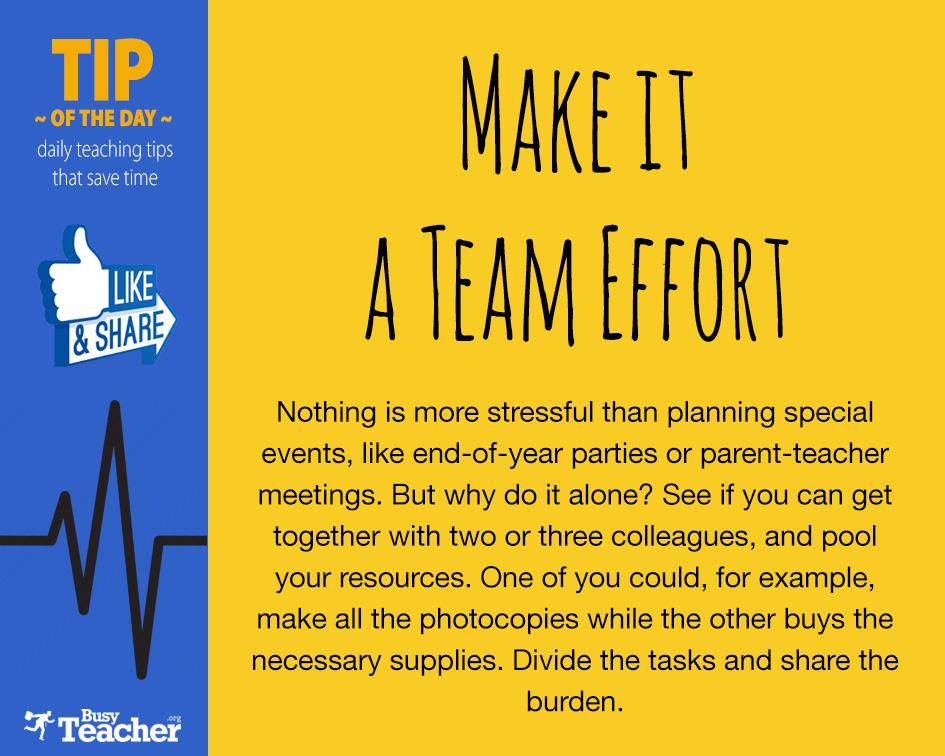 Make it a Team Effort! http://t.co/AAgiOLBgml