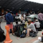 BREAKING: Kathmandu Airport shut,air operations for #NepalQuake hampered due to heavy rainfall http://t.co/nAGJZvxOXM