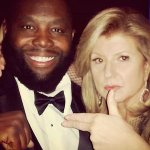 .@KillerMikeGTO partied with Arianna Huffington at the White House Correspondents Dinner http://t.co/EsP16Vk8YA http://t.co/mWXm0OyvUs