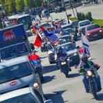 Así de lindo se viven las caravanas recorriendo la tremenda ciudad que tenemos! http://t.co/z9iocF5azW