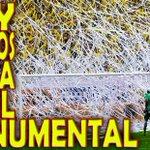 Hay fiesta en el monumental porque juga BARCELONA pero que cosa sensacionall! http://t.co/sMRcCfIXsn