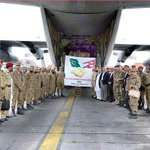 Pakistan Army Rescue Team comprising doctors, engineers & rescue workers shortly after arrival at #Kathmandu Airport http://t.co/6Cf8bgeort