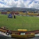 Estadio #Chillogallo #Aucas - @CSEmelec @Emelec #FEF. http://t.co/Rs0JjYDEpT