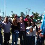 Junto a @GarceAlvaro y tremenda barra de la lista 1 en Punta de Rieles. Con todo! http://t.co/piInsVJls5