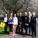 Sunshine, hailstones, and an incredibly warm welcome on the doorsteps of Bearsden for the #VoteSNP team. #GE15 http://t.co/H6RfvbU0UU