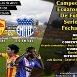Vive la previa por @RadioHuancavilk #Emelec vs #Aucas en vivo desde las 11h00 #CampeonatoEcuatoriano #CopaPilsener http://t.co/a9HgQs7HT0