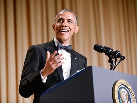 The best lines from Barack Obama's speech at the White House Correspondent's Dinner