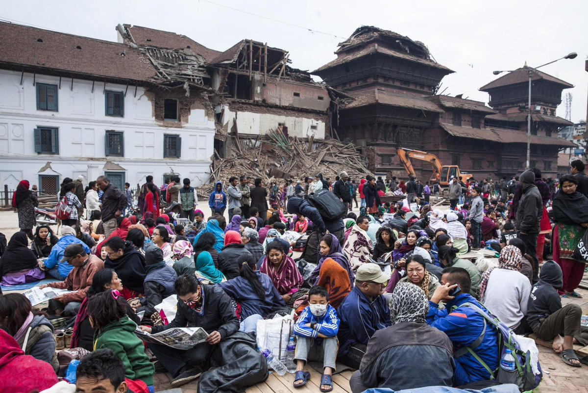 Families are homeless after the 7.8-magnitude Nepal earthquake. Please help by donating today: http://t.co/NBsoKHsjWI http://t.co/6pPB4O78El