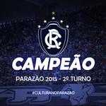 O Remo é campeão da Taça Estado do Pará #CulturaNoParazao http://t.co/LZffrZ5ujB