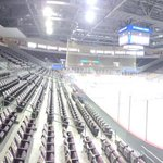 The Erie Insurance Arena is ready! See you soon #Otters fans. Wear your white!#OneGoal #SSMvsER http://t.co/RbCmjnoMUv