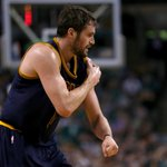 UPDATE: Cavaliers PF Kevin Love dislocated his left shoulder in Game 4 against the Celtics. http://t.co/q1xfgKMi6y