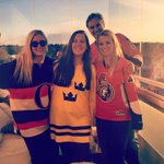Per Strom sent this photo to @CBCOttawa on #Facebook: Cheering on the #Sens from Linkoping, Sweden. #cbcott #Ottawa http://t.co/FNqHcLTLOT