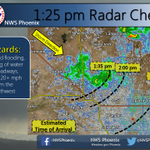 125p Radar Check. Estimated time of arrival of showers thru the Metro Phoenix this afternoon. #azwx http://t.co/KyfOOFW920