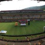 A una hora del partido entre BSC y LDU http://t.co/3OQh5UCll0