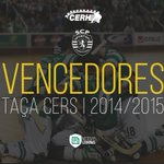 É NOSSA! O Sporting Clube de Portugal é o vencedor da Taça CERS 2014/15! http://t.co/uQR3jMnERl