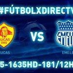#FutbolxDIRECTV En el estadio Gonzalo Pozo Ripalda @Aucas45 vs @CSEmelec ⚽Canales 635-1635HD-181/12H00 http://t.co/dZA4qNfKTq