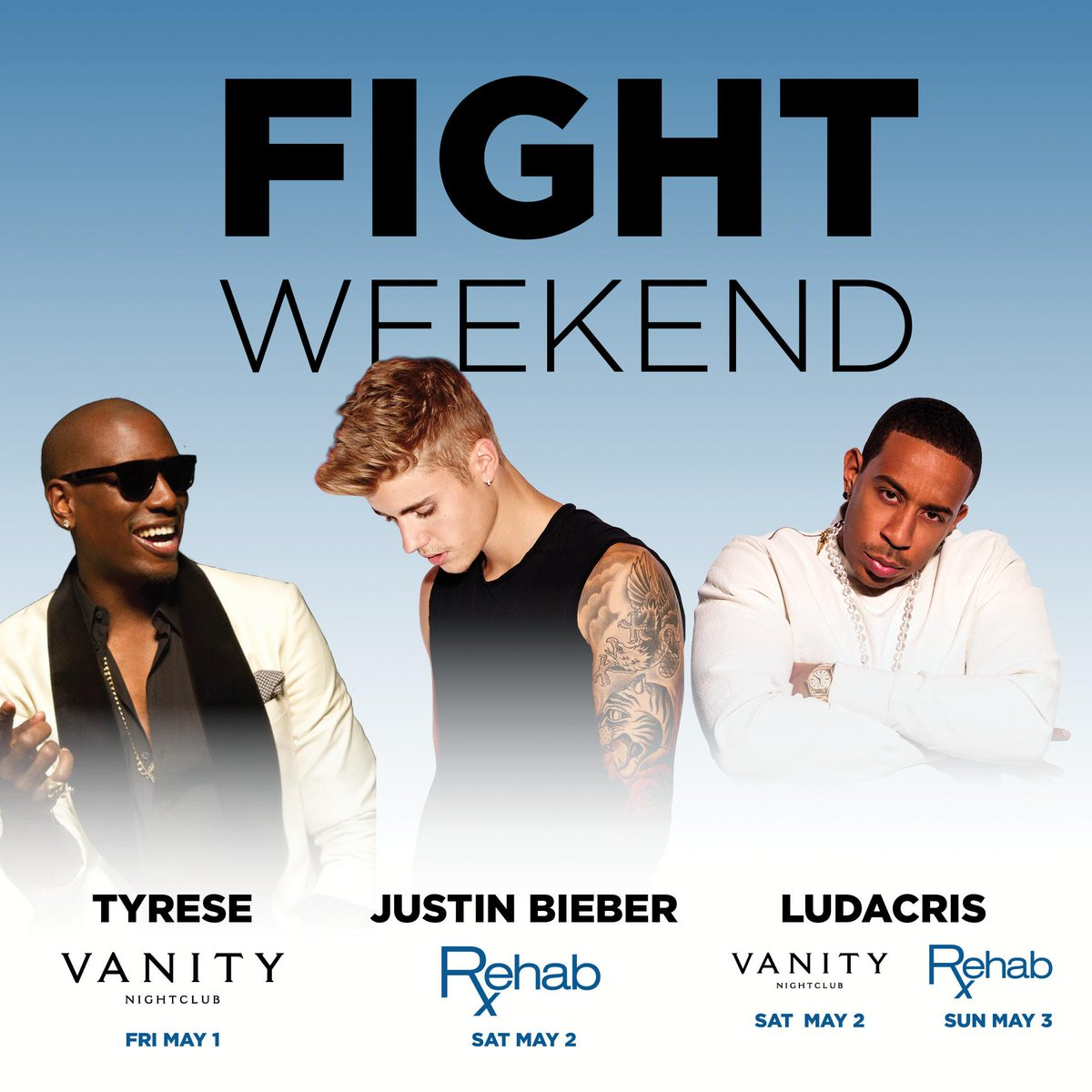Who's ready for Fight Weekend? It's gonna be the biggest weekend of the year! http://t.co/dD7838sX59 http://t.co/1kQz0oLGfC