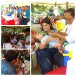 #FiestaDeLaSaludEnAragua | #VacunaciónDeLasAméricas en Cagua municipio Sucre. @TareckPSUV @NicolasMaduro http://t.co/IgXsE5wcS6