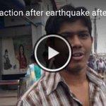 #Video: Public reaction after a mild tremor jolts #Bangladesh following #NepalEarthquake http://t.co/3XqOnxOSIb http://t.co/dVGRtg0XOA