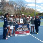 WTEN: The 2015 MAAC Womens Tennis Championship Team @QUAthletics #MAACTennis http://t.co/mBxgJGeRGx