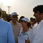 Today at Clean and Green Islamabad seminar with Chairman @ImranKhanPTI http://t.co/CLTtdRpmDJ