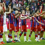 Bayern Munich have won the Bundesliga title for the 25th time in history and the 3rd time in a row. http://t.co/D7f5KIy0zP
