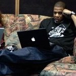 Hov was reading the TIdal tweets and had to react http://t.co/VOkPhgGmhh