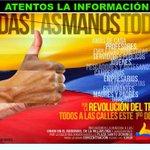 VAMOS TOD@S A DEFENDER #RevolucionDelTrabajo #TodasLasManosTodas junto a @MashiRafael ---> https://t.co/wOaSteolDF http://t.co/zQKALssnAu